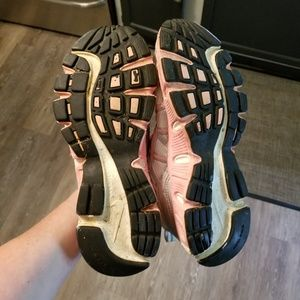 Nike Shoes - Nike air silver/pink size 7.5